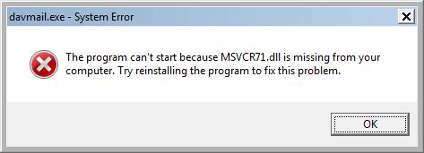 Java Loves MSVCR71 dll in 64-Bit – Medo's Home Page