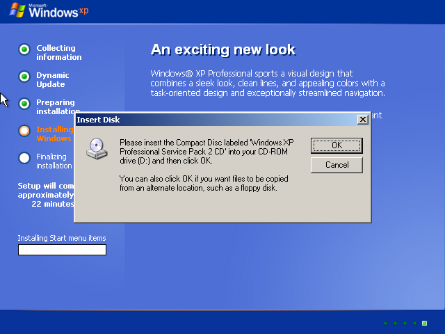 Installing windows xp media center edition medo 39 s home page for Windows home page