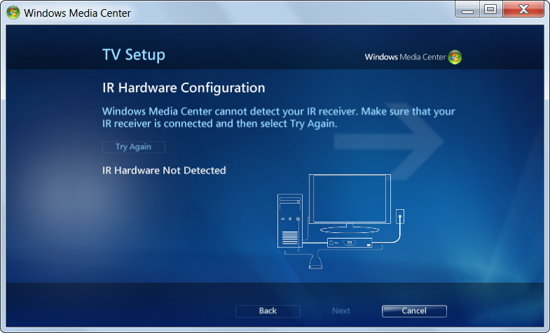 Windows media center without ir extender medo 39 s home page for Windows home page