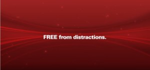 Cinemark - free from distractions