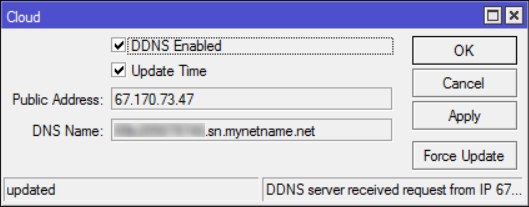Adding Mikrotik DDSN as a Subdomain – Medo's Home Page