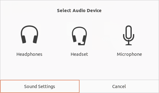 Avoiding Select Audio Device Prompt on Dell XPS 15 under