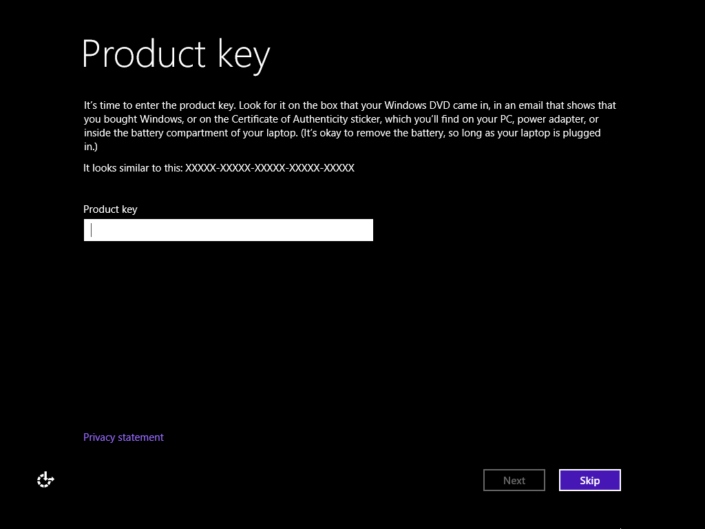 Installing Windows 8 1 (Or 8) Without a Product Key – Medo's